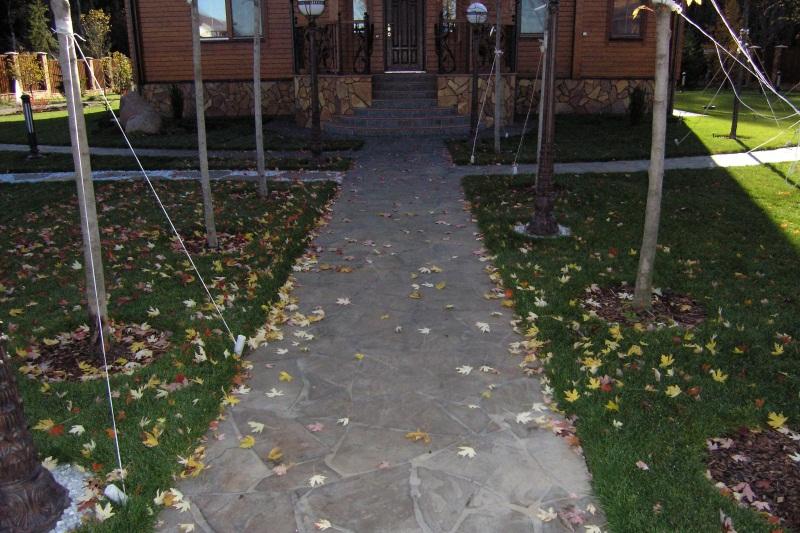 Дорожки для сада своими руками из бетона 296
