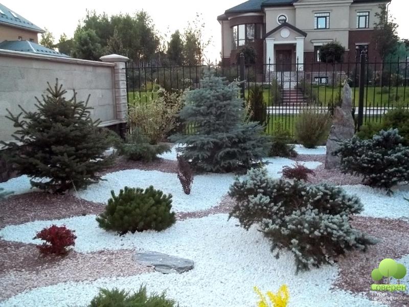 Дизайн площадки для отдыха возле дома